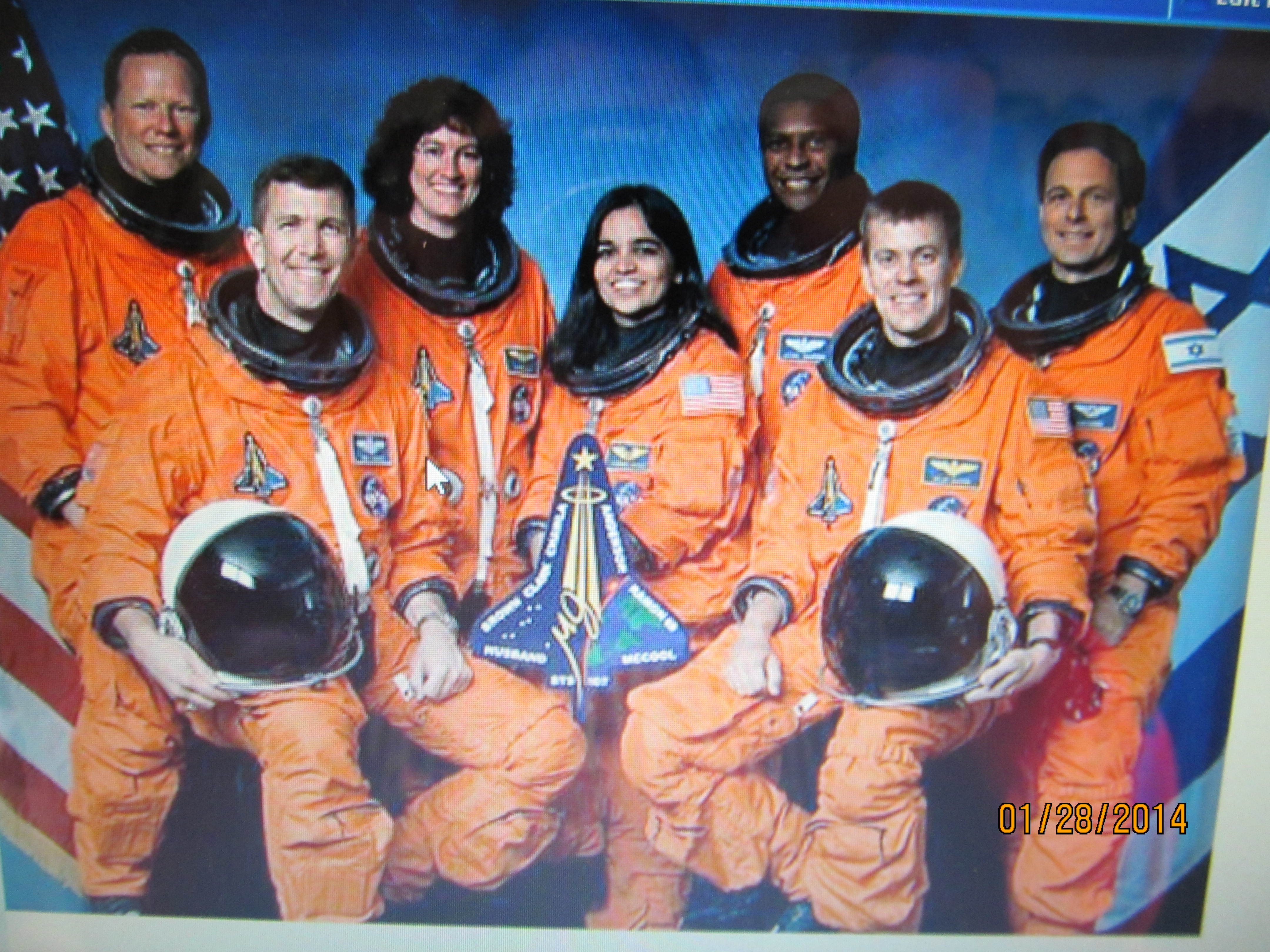Challenger crew names - Pictures of Space