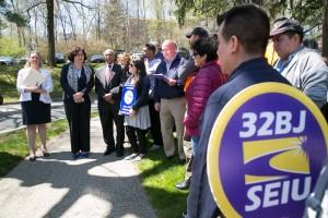 MaryJane Shimsky Addresses workers