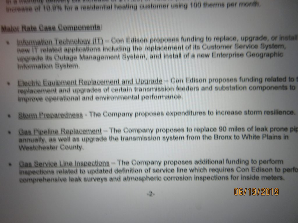 Con Ed Seeks 14 5% HIKE IN N ATURAL GAS DELIVERY RATES  8 6